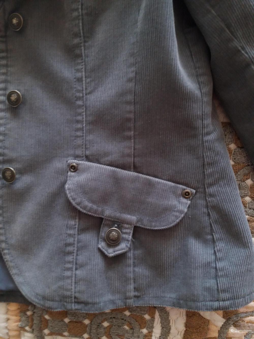 Пиджак вельветовый  H&M, размер 46