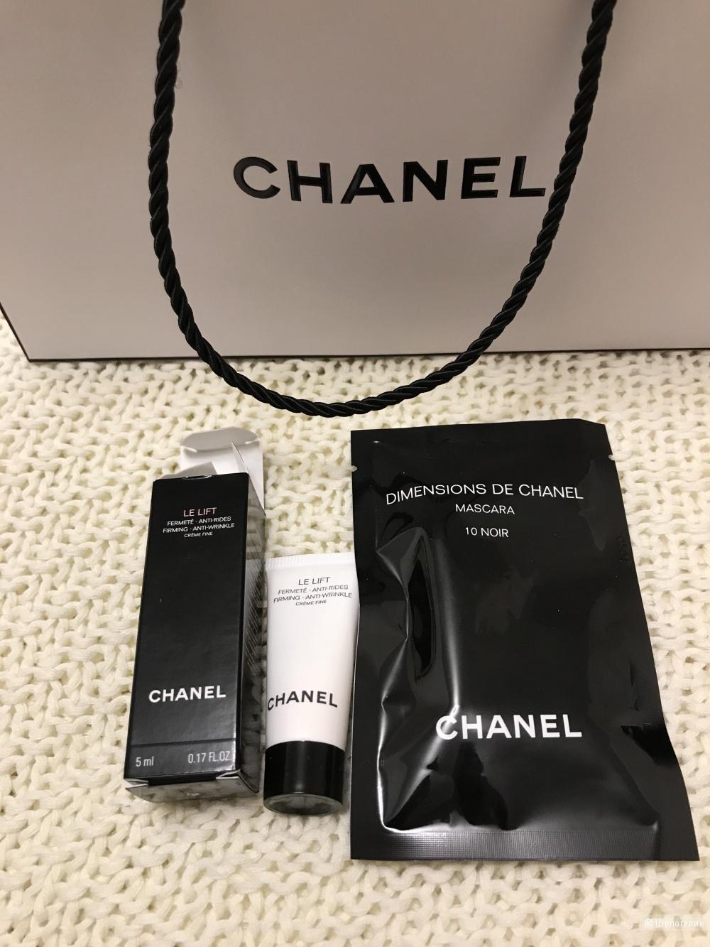 Миниатюры крем Le Lift 5 мл и тушь Dimensions de Chanel 1 мл