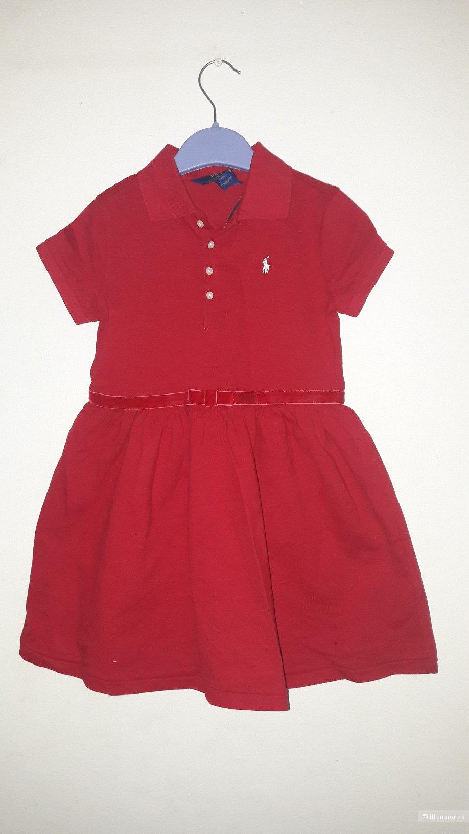Платье Polo Ralph Lauren на девочку 6Х.