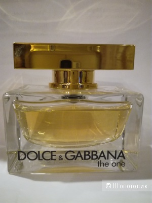 The One, Dolce&Gabbana,50 мл,едп.