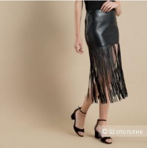 Кожаная юбка Maje размер 36(fr)