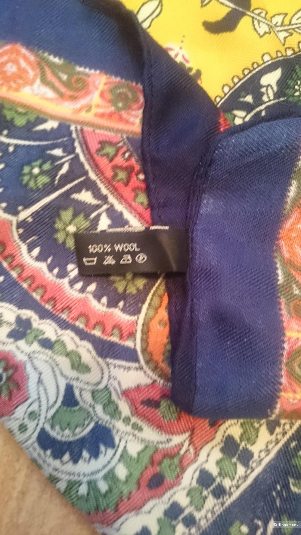 Сет из двух платков  Etro, 100% шерсть, 130/130