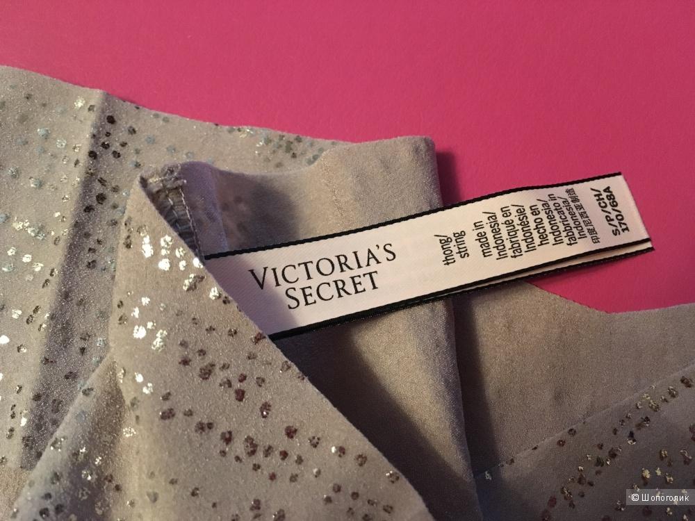 Бесшовные трусики - стринги Victoria's Secret, размер S (сет из 3 штук)