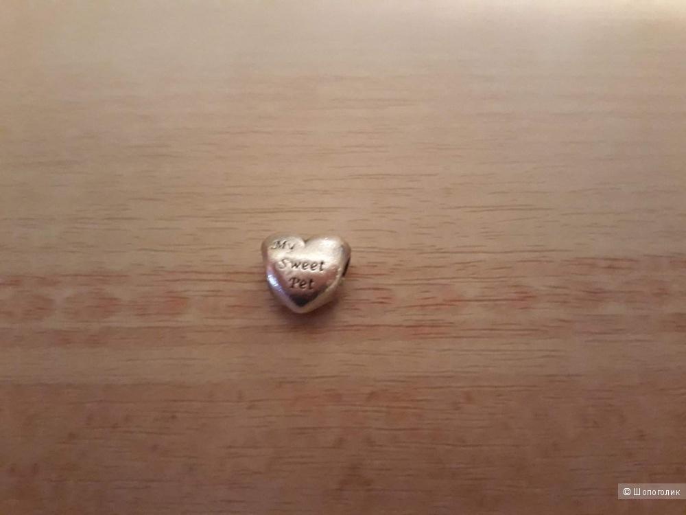 "Шарм ""Сердце"" Pandora"