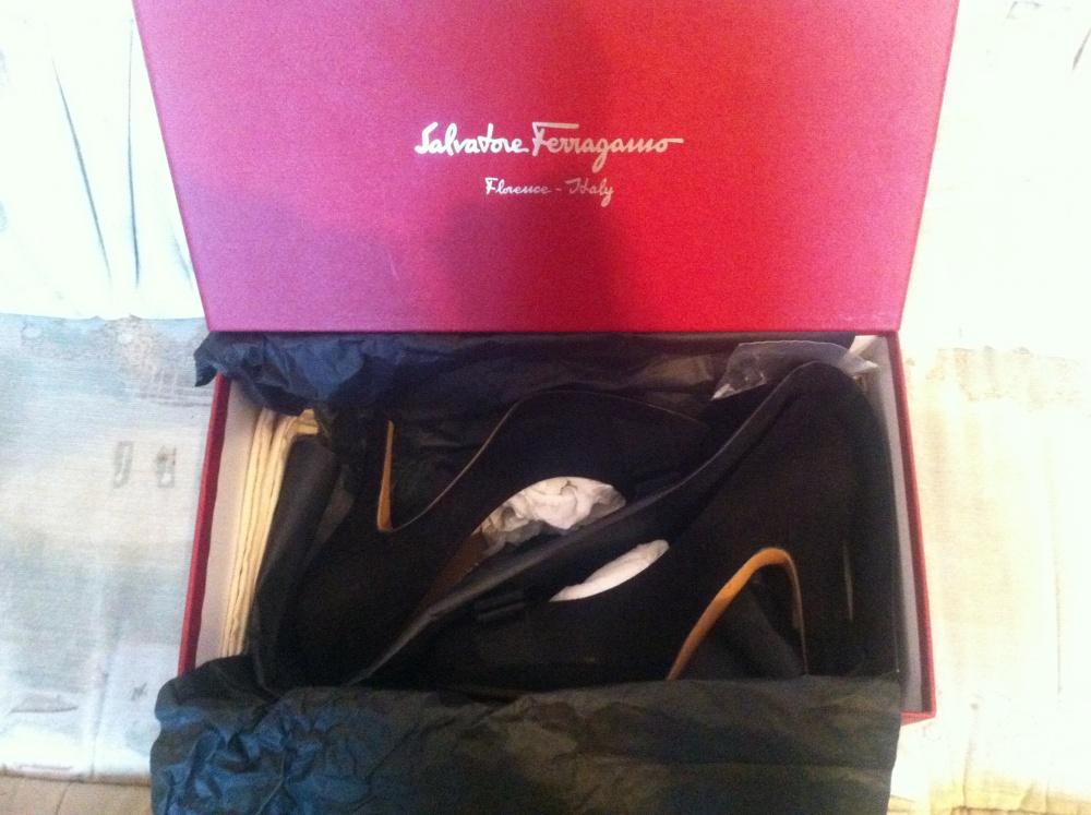 Туфли Salvatore Ferragamo,  (6 С, на 35 размер)