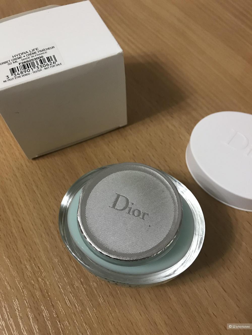 Крем для лица Dior Hydro Life Sorbet Creme