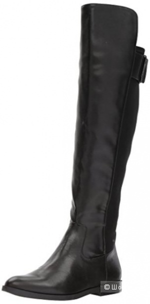 Кожаные сапоги ботфорты Calvin Klein, разм 8.5