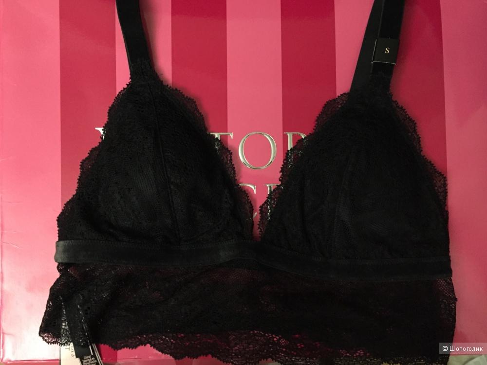 Бралетка черная Victoria's Secret размер S