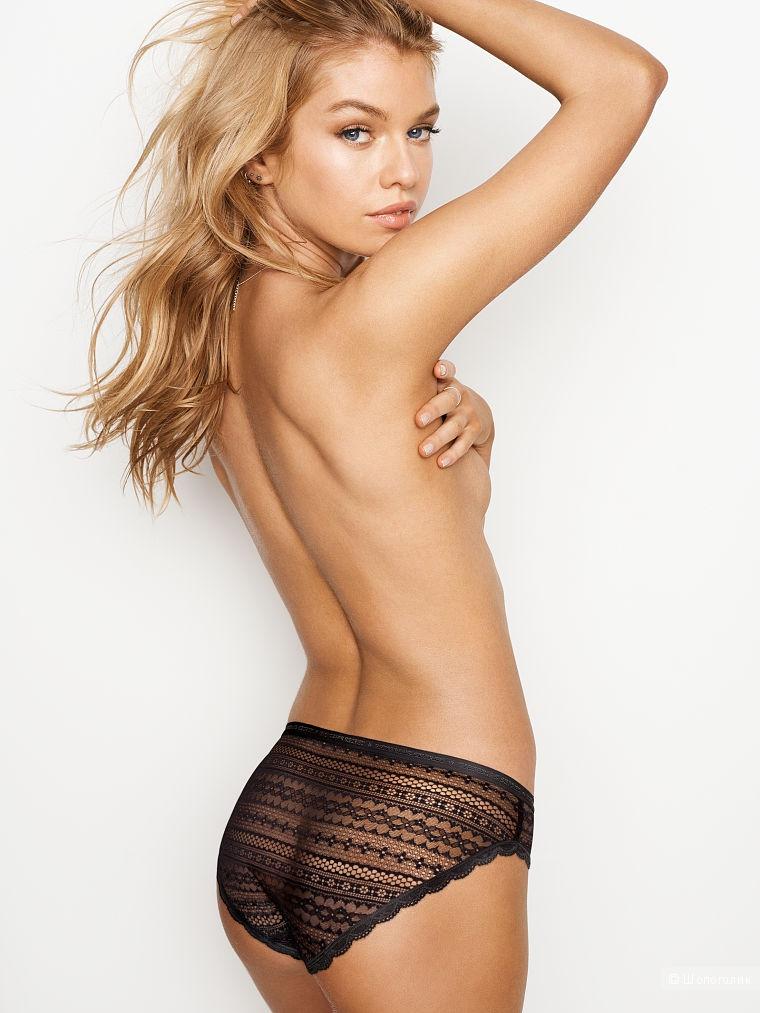 Кружевные трусики бикини Victoria's Secret, размер S (сет из 2 штук)