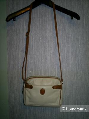 Кожаная сумка кросс-боди от Entra.