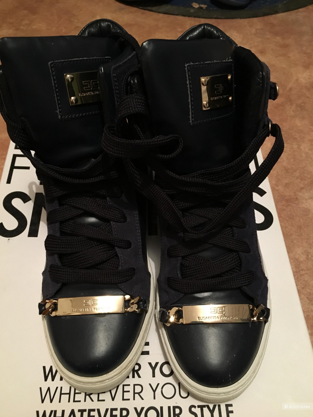 Ботинки- кроссовки,  Elizabeth Franchi, 37 размер
