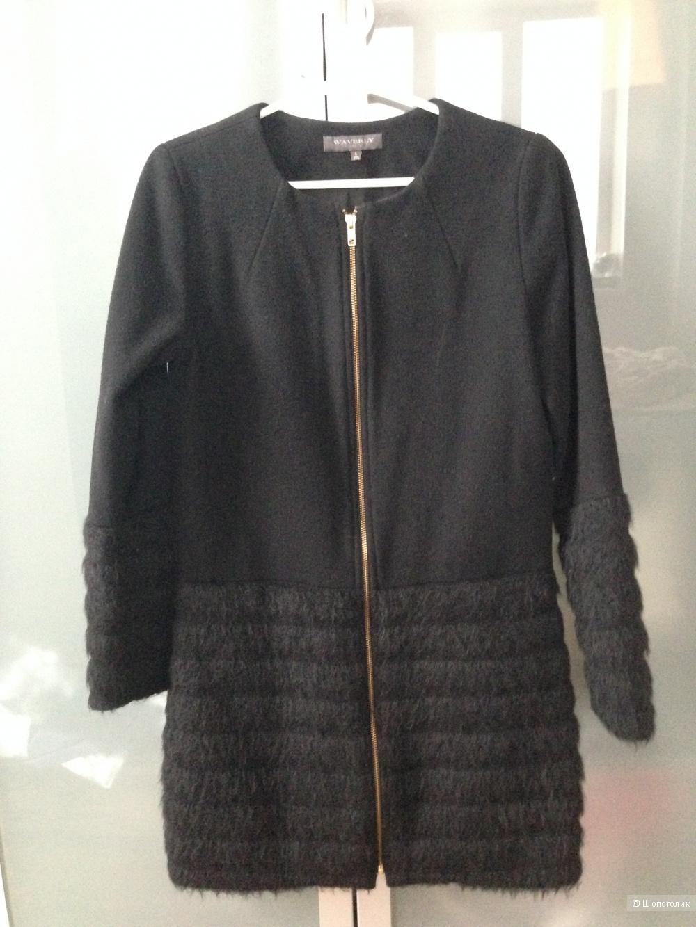 Пальто waverly grey размер US 6 (рос. 44)