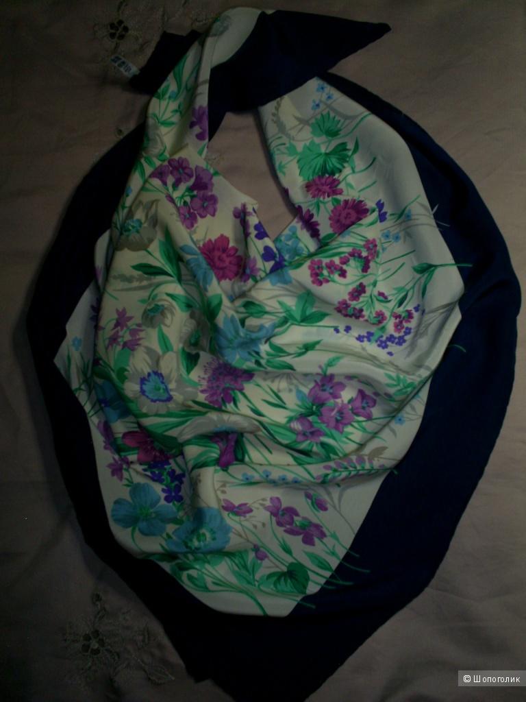 Шелковый платок 84-84 см.
