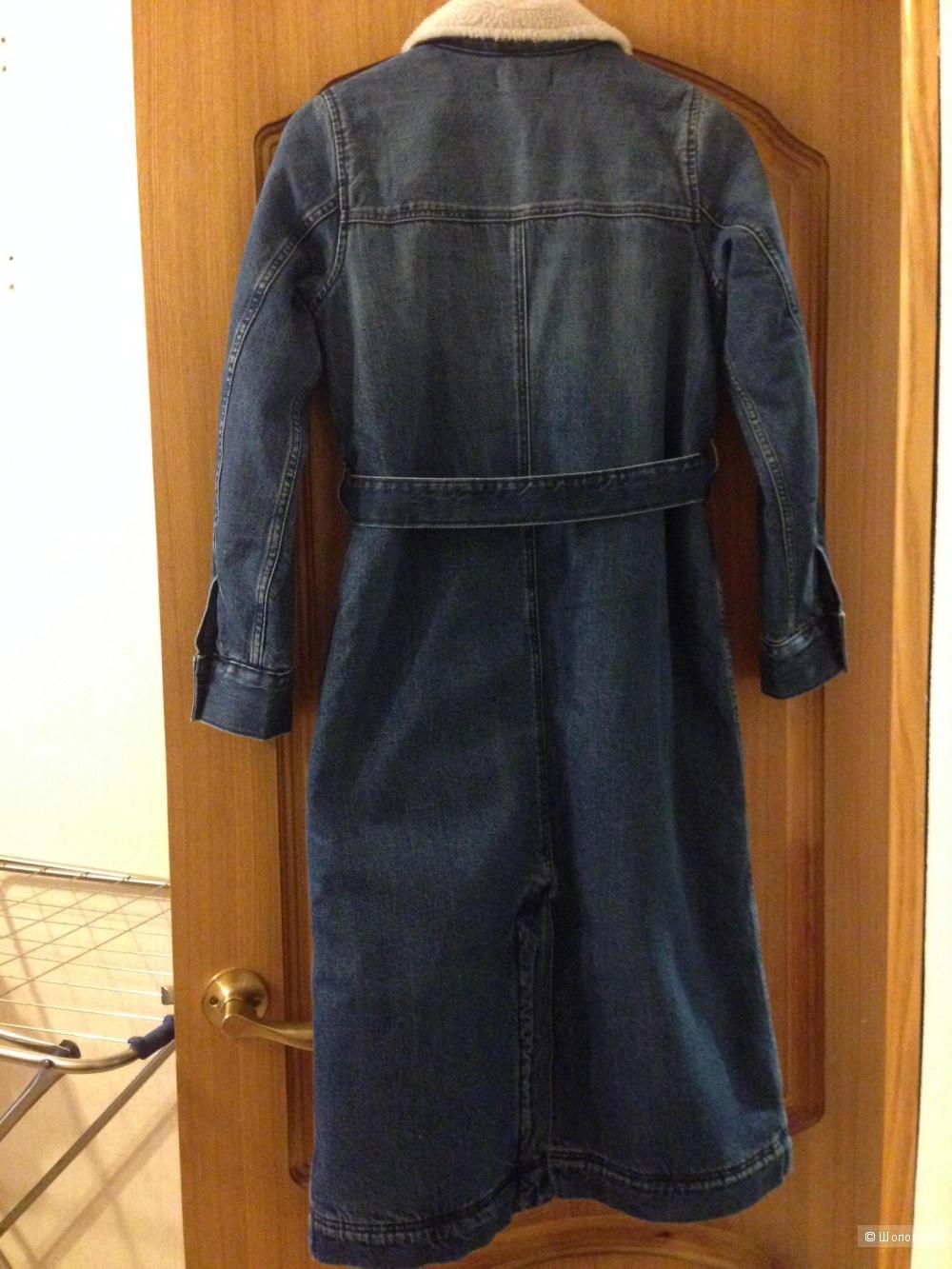 Джинсовое Пальто madewell на xs , s
