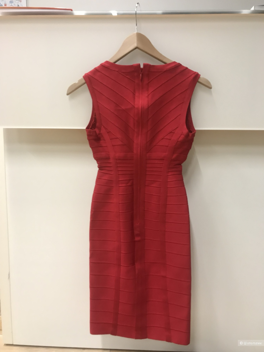 Платье Herve Leger  XS Darby Knit Cocktail  Dress