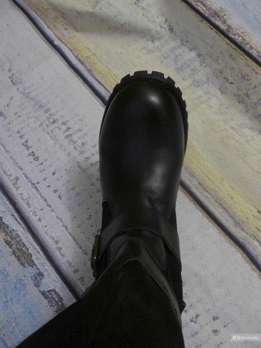 Сапоги кожаные  Jeff Silverman, 38 размер
