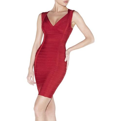 Платье Herve Leger  XS Darby Knit Cocktail  Dress