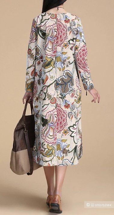 Платье мультиколор, L