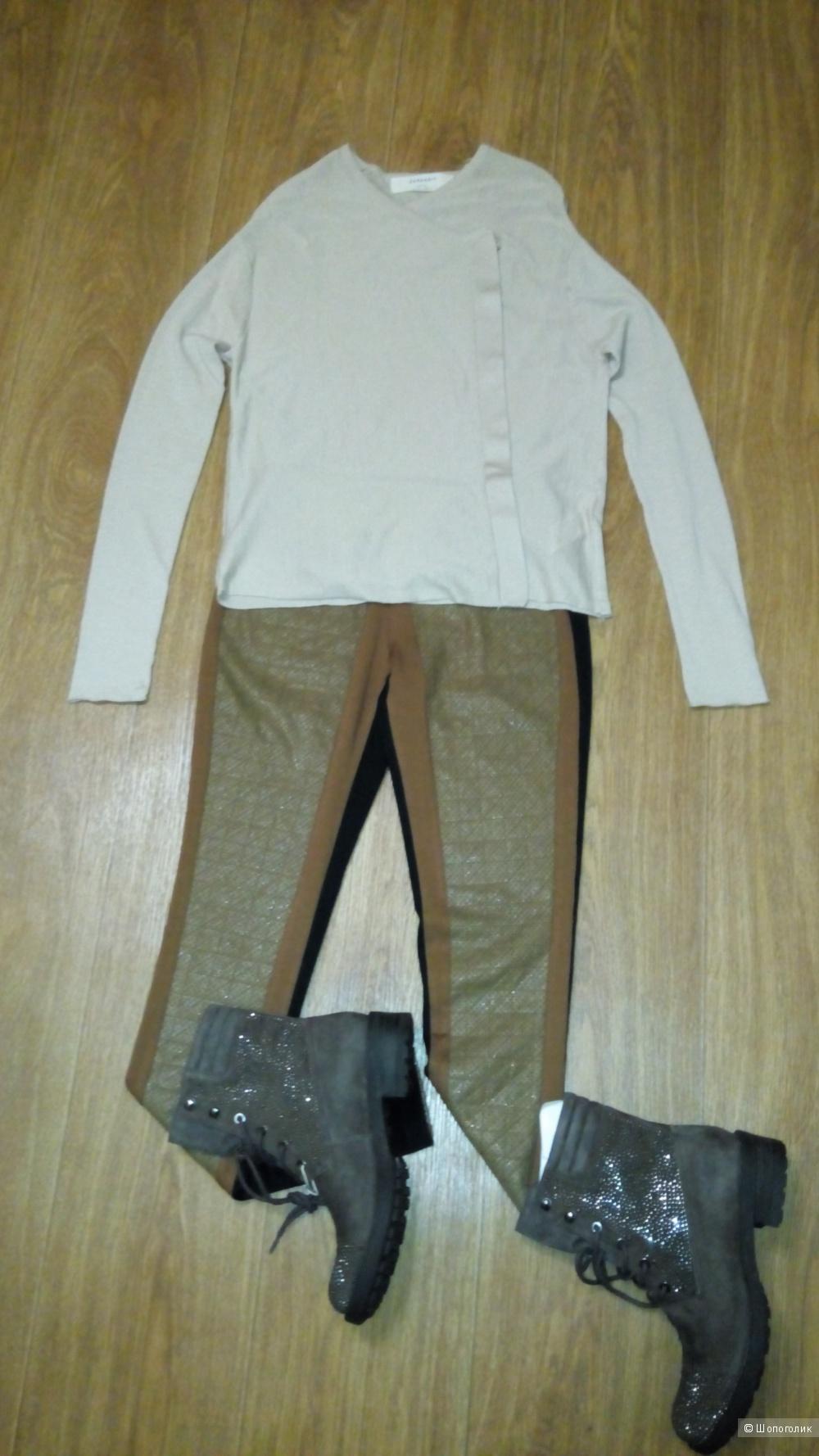 Сет из двух вещей, кофта Zara и платок к ней, размер S -XS
