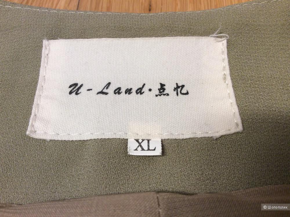 Длинная жилетка U-Land р.XL (на 46-50)