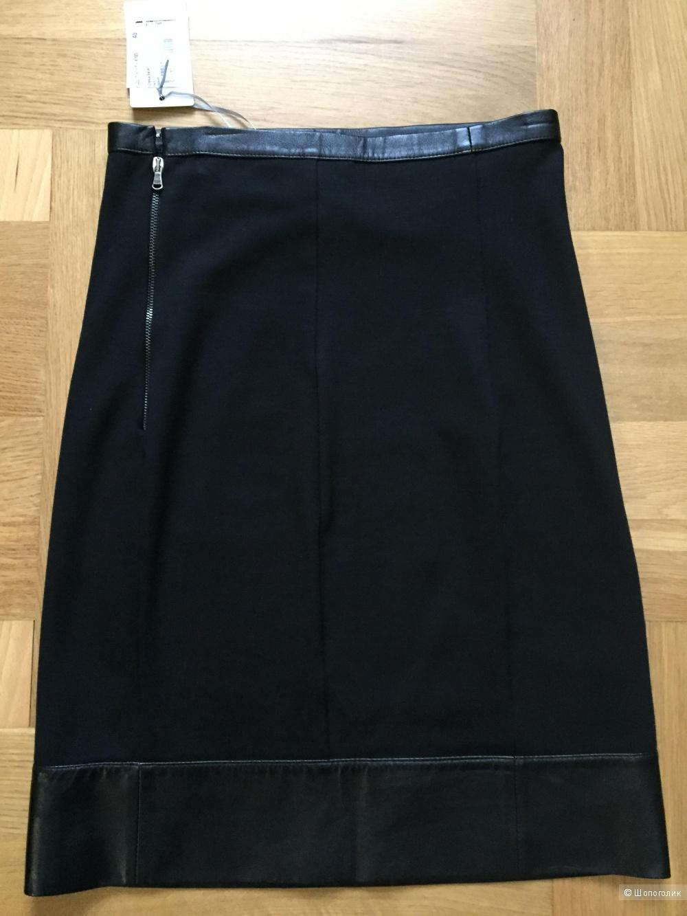 Кожаная юбка-карандаш Patrizia Pepe Firenze 40IT