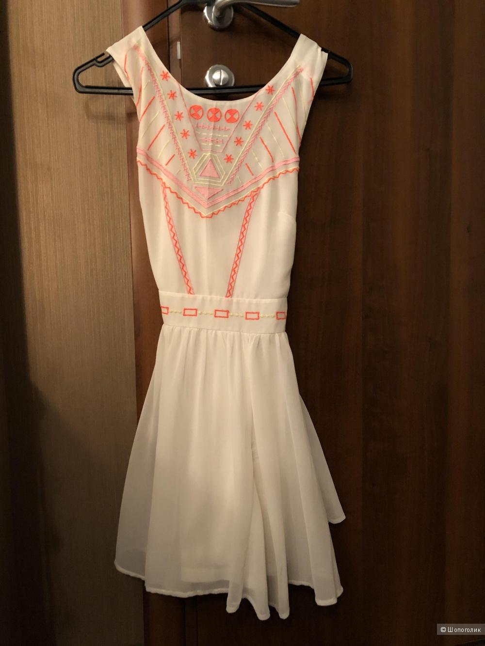 Летнее платье ASOS PETITE. Размер XXS