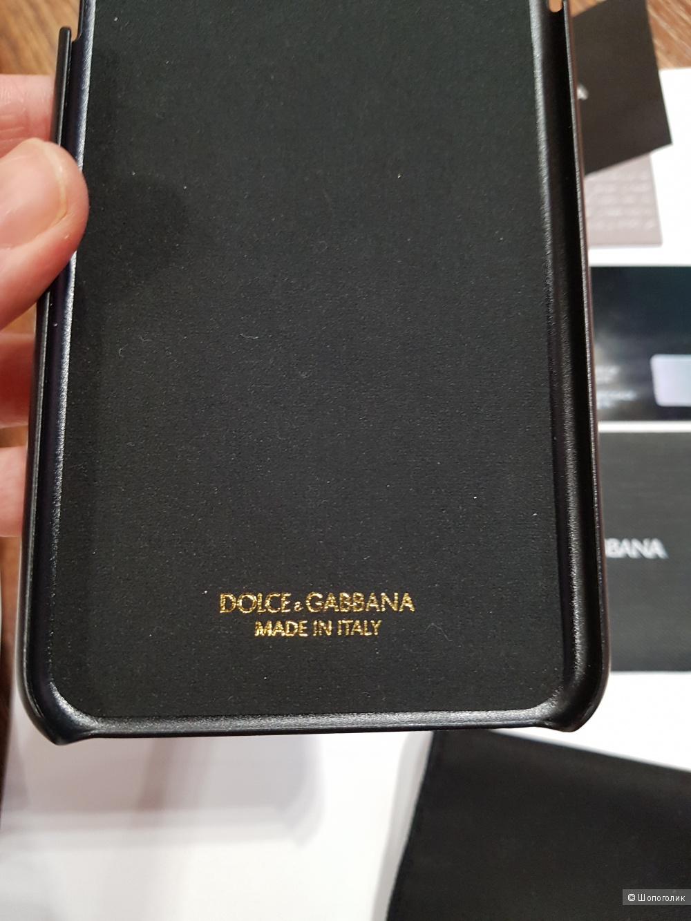 DOLCE&GABBANA чехол-панель для телефона iPhone 6-6+