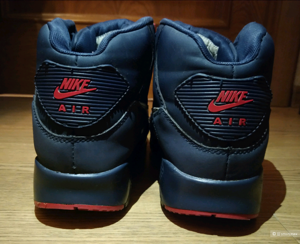 Кроссовки зимние, Nike Air Max 90 , 42 размер