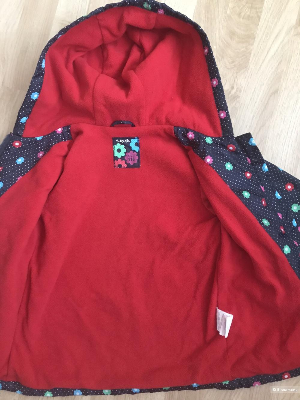 """Детская куртка """"5.10.15"""" размер 116"""
