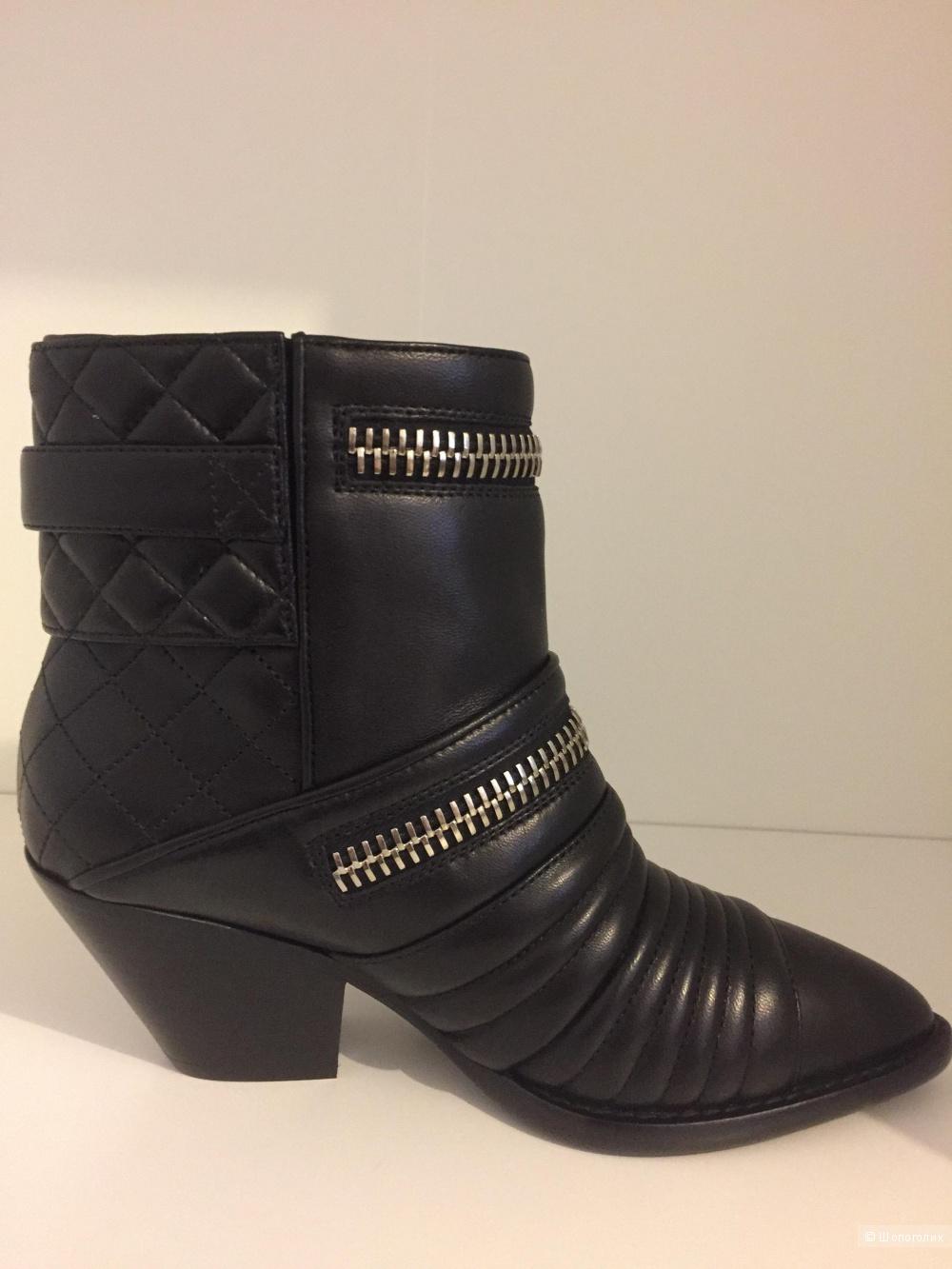 GIUSEPPE ZANOTTI DESIGN Ankle Boots демисезонные сапоги 37 размер