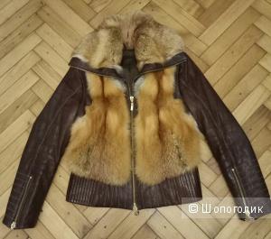 Куртка из лисы,Albertini Collezione,46-48