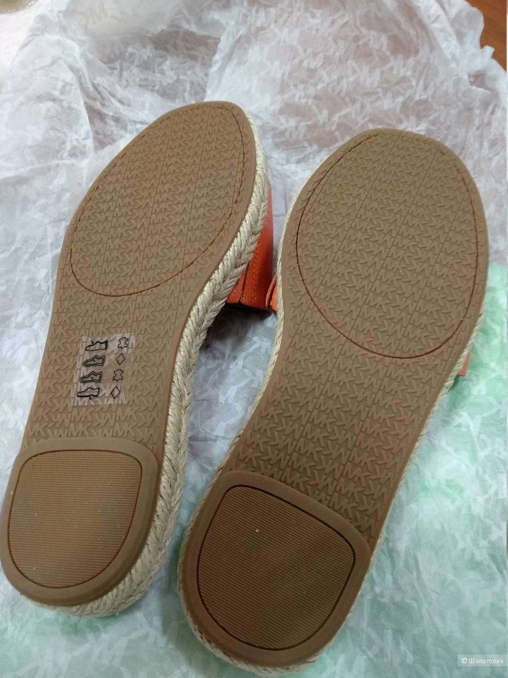 MICHAEL KORS Leather Slide размер US6(36)