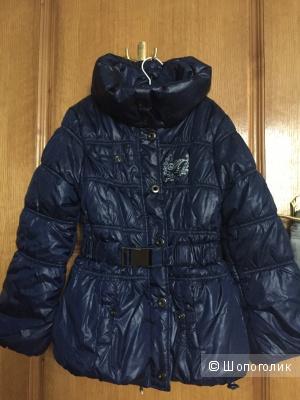 Теплая куртка ф.Mariquita 140-146 для девочки