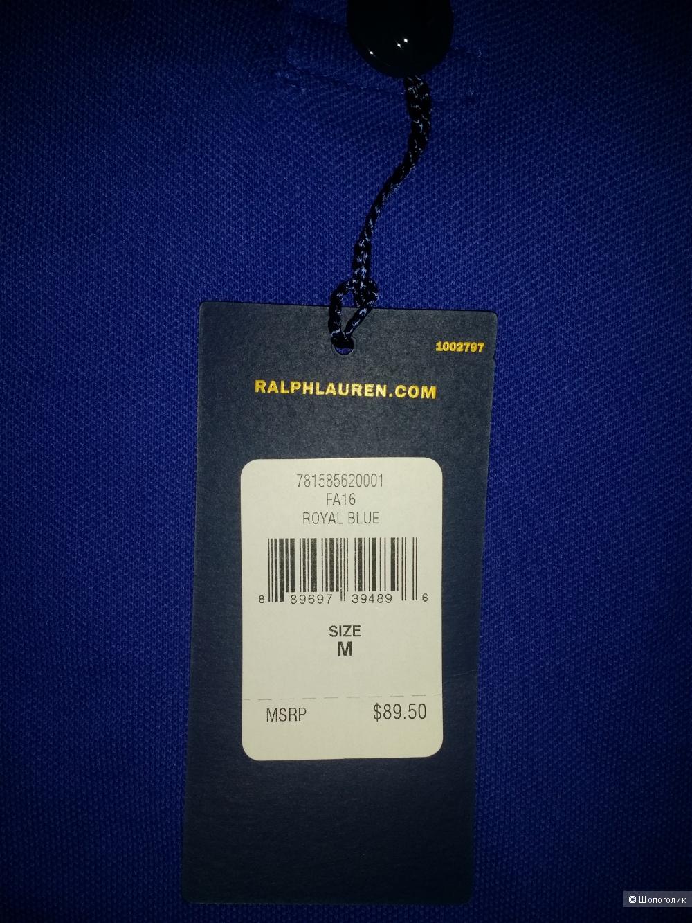Поло мужское Ralph Lauren размер М