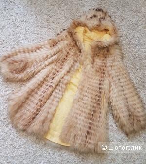 Шуба из натуральной лисы, размер 40-42