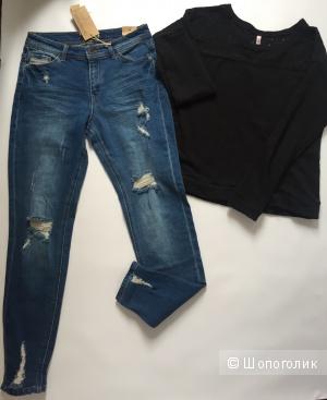 Сет джинсы reserved размер 36 и свитер оверсайз amisu