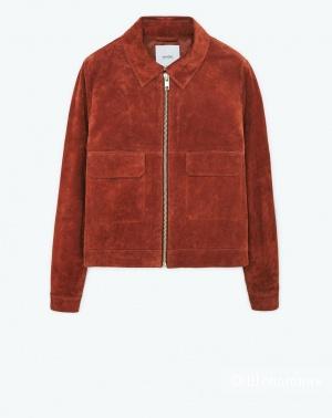 Замшевая куртка Mango  46 р.
