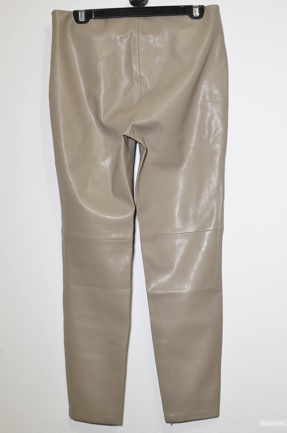 Брюки Zara эко-кожа, размер L
