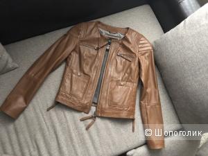 Куртка кожа Max & Co. Размер xs-s