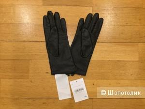 Кожаные перчатки C&A, р. 7