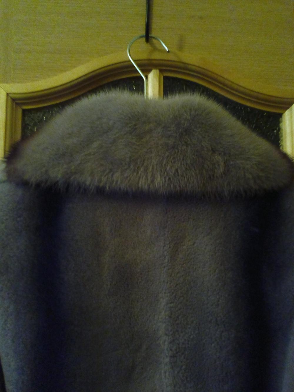 Шуба Lanbecetinlers shadow, размер 46-48 российский.