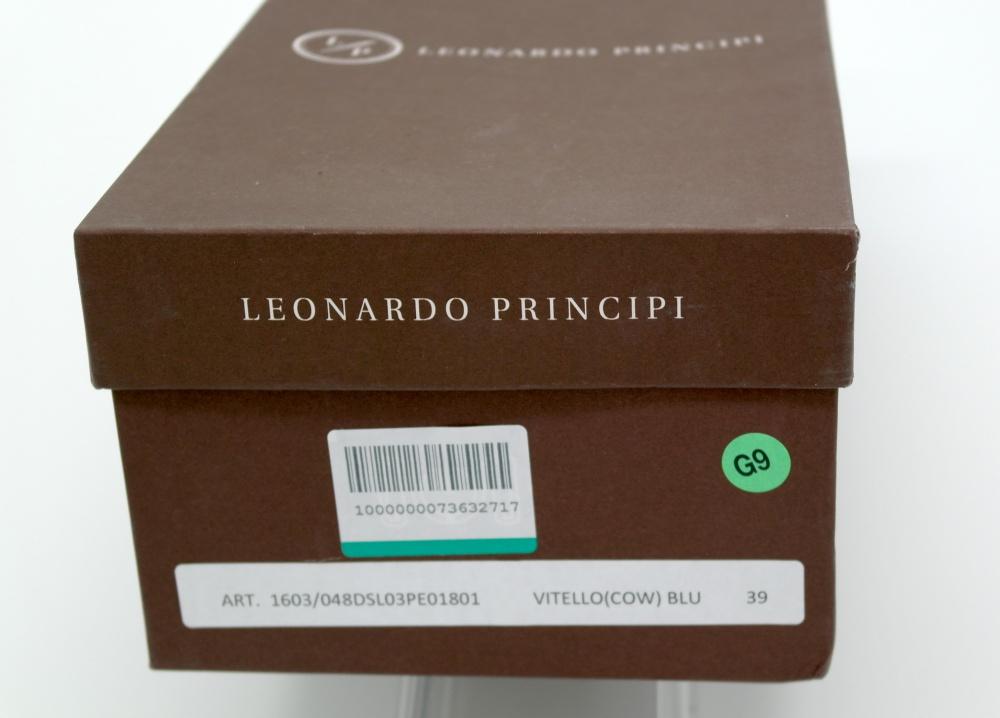 Лоферы LEONARDO PRINCIPI, размер 38.0 - 38.5