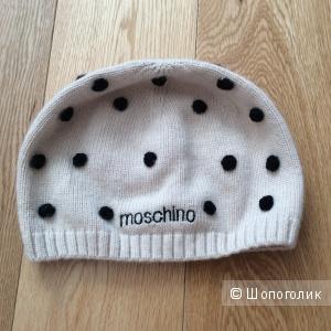 Вязаная шапка Moschino р.50-54