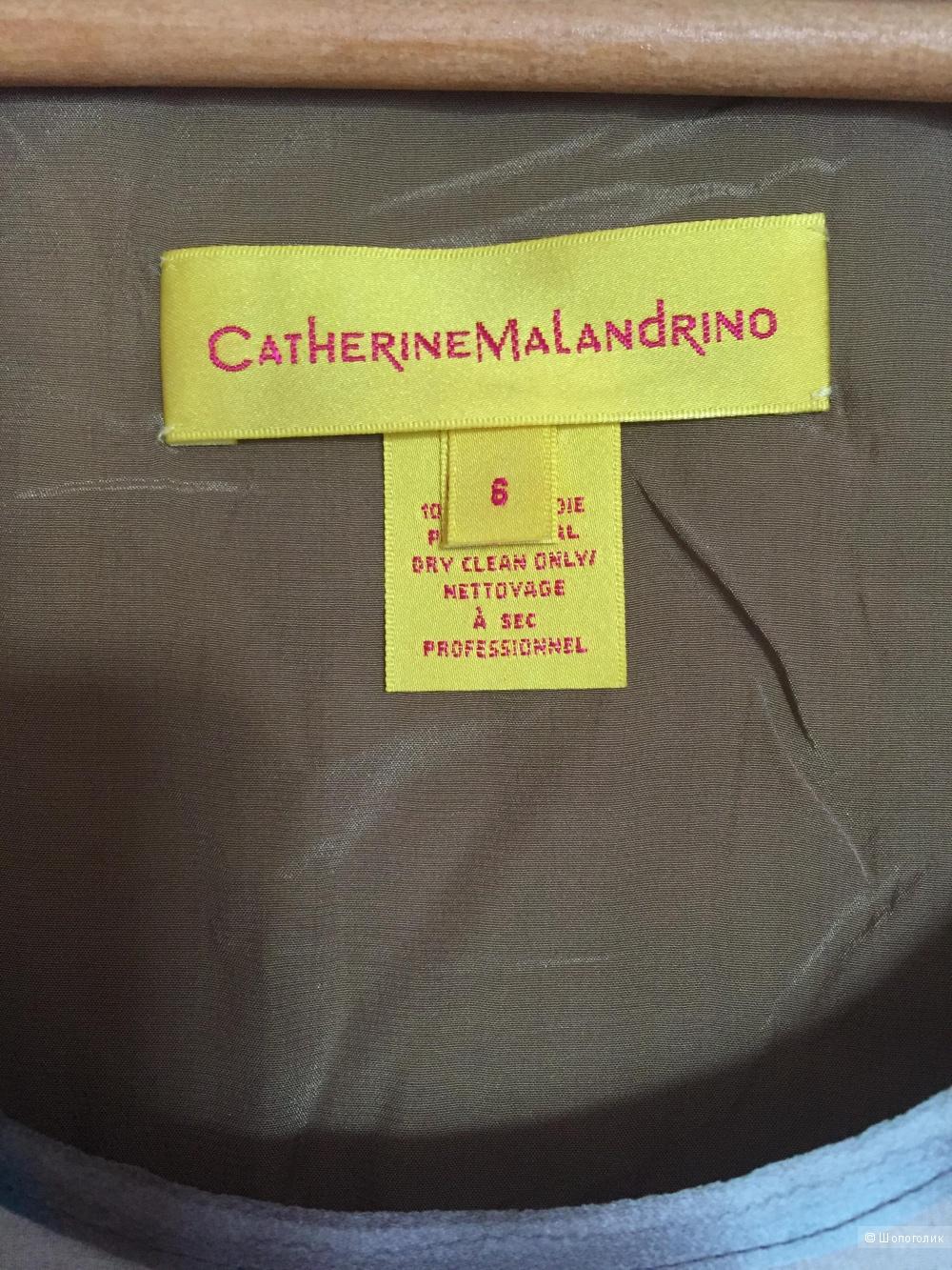 Туника шелковая Catherine Malandrino 6US