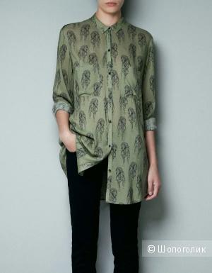 Рубашка ZARA 46 - 48 размер L