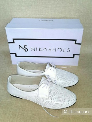 Женские кожаные ботинки NikaShoes 37 размер