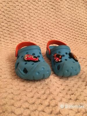 Детские crocs размер c6