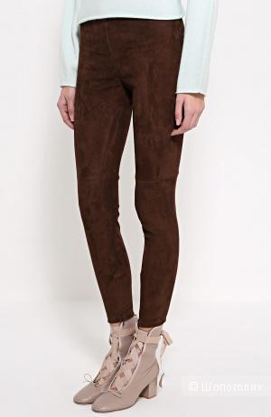 Замшевые брюки, размер 38