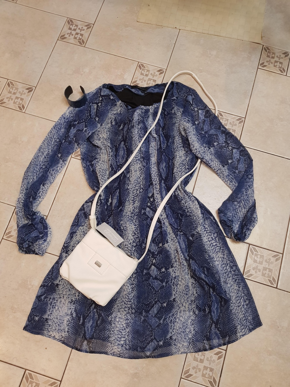 Комплект платье и сумочка р.42-46
