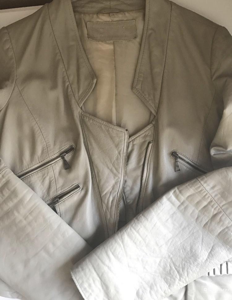 Кожаная куртка Zara, M